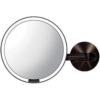 Amazon Com Gurun Led Wall Mount Makeup Mirror Lighted