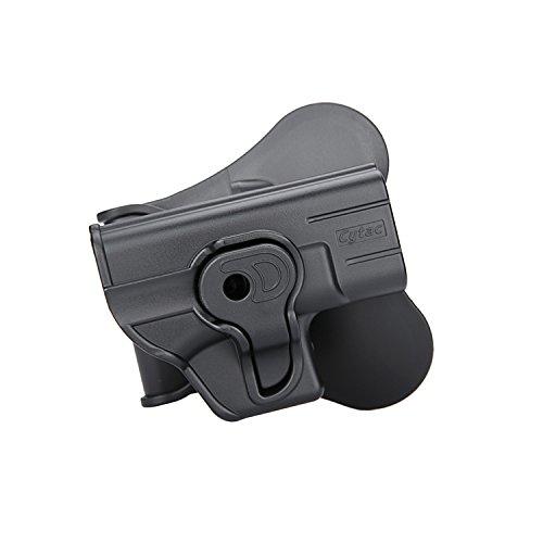 Cytac Holster for Glock 42 (Fits Gen 1,2,3,4) Cytac Glock in Black