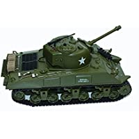 Dilwe 1:30 2.4Ghz US M4A3 Sherman RC Tanque