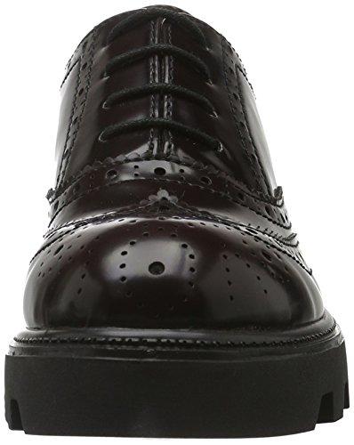 s.Oliver 23619, Zapatos de Vestir para Mujer Rojo (BORDEAUX 549)