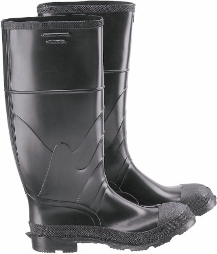 "ONGUARD 86606 Monarch Men's Steel Toe Economy Knee Boots with Cleated Outsole, 14"" Height, Size 9"