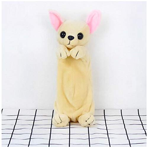 PAPPET Chihuahua Stuffed Animal Chihuahua Plush Toys Dog Storage Bag Puppy Animal Doll Birthday Christmas Valentines Gifts