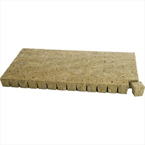 TekSupply 111386 Grodan A-OK 1.5 in x 1.5 in Starter Plugs - 98 per Sheet from The Hydroponic City