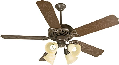 Craftmade Patio 52 Ceiling Fan (Craftmade K10430 Ceiling Fan Motor with Blades Included, 52