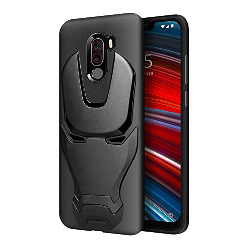 uk availability 361bc 52bb8 KAPAVER® Xiaomi Poco F1 Phone Rugged Back Cover Case MIL-STD 810G ...