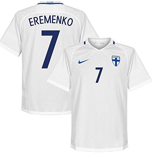 Finland Home Ermenko Jersey 2016 / 2017 (Fan Style Printing) -