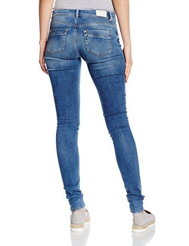 Only, Pantalones para Mujer Azul (Light Blue Denim)