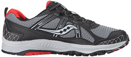 Saucony Men's Grid Excursion TR10 Running Shoe, Grey/Black/Red, 8.5 M US by Saucony (Image #11)