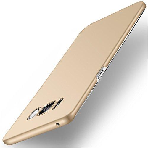 Samsung Galaxy S8 Case, S8 Plus Case Slim Anti-Scratch Hard PC Phone Case for Samsung Galaxy S8 Plus (Samsung Galaxy S8, Gold)