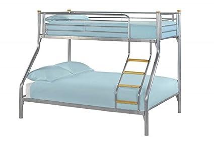 litera para tres personas cama individual de 91 cm y cama familiar de 137 cm - Literas Para Tres