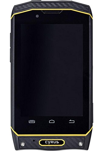 Cyrus CS19 DUAL SIM WATERPROOF DUSTPROOF SHOCKPROOF Outdoor Smartphone Yellow-Black by Cyrus