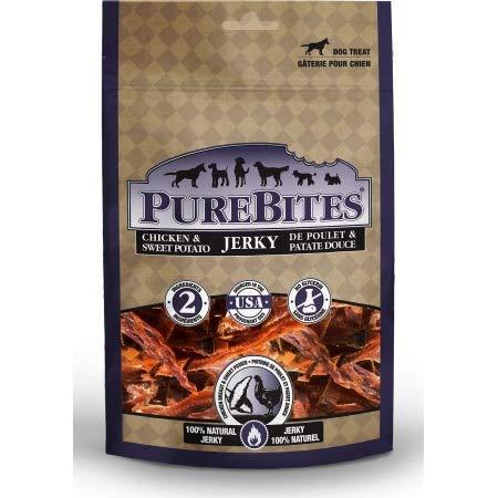 PureBites Chicken & Sweet Potato Jerky Dog Treats (18 Pack)