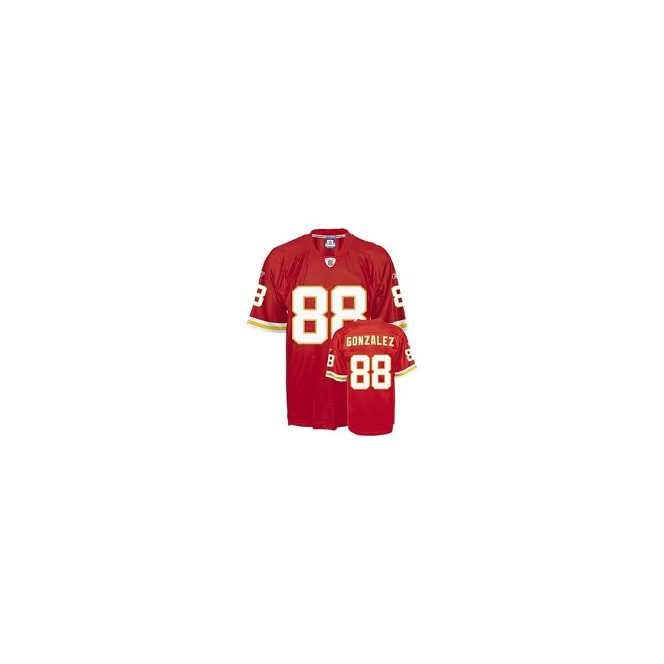 Tony Gonzalez #88 Kansas City Chiefs NFL Replica Player Jersey