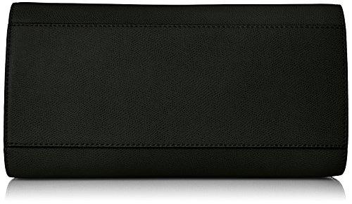 Calvin Klein Key Item Small Mercury Saffiano Top Zip Satchel, Black/Gold by Calvin Klein (Image #4)