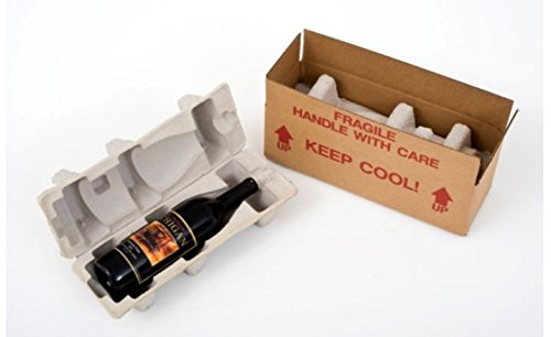 Wine Bottle Shipping Box with Protective Tray (Shipping Wine)