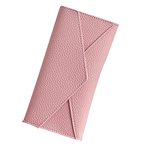 Hot Sale! Women Handbag Wallet,Canserin 2017 New Women's Daily Use Clutches Handbag Quality Clutch Purse Fashion Handbag Wallet (Pink)
