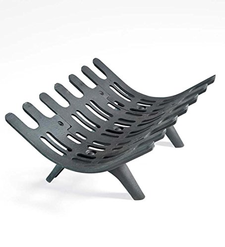 Small Cast Iron Deep-Bed Fireplace Grate