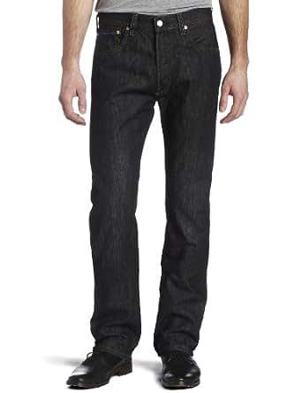 Levi's Men's 501 Original Fit Jean, Iconic Black, 28x30