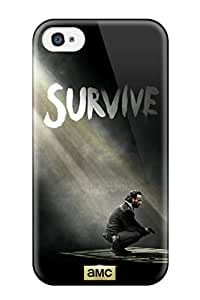 New Style Tpu 4/4s Protective Case Cover/ Iphone Case - The Walking Dead hjbrhga1544