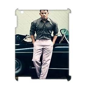 Custom 3D Case Cover for iPad 2,iPad 3,iPad 4 w/ Channing Tatum image at Hmh-xase (style 5)