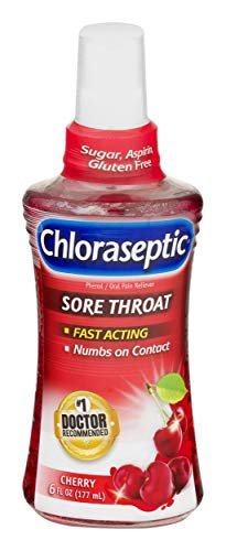 Chloraseptic Sore Throat Spray | Cherry | 6 FL OZ | 1 Bottle