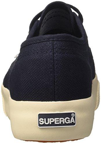 Navy Superga cotu 933 Mujer 2730 Azul Zapatillas para PPYaO