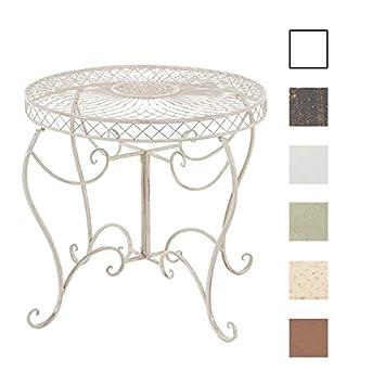 CLP Table Ronde de Jardin Sheela - Table de Jardin Design en Fer ...