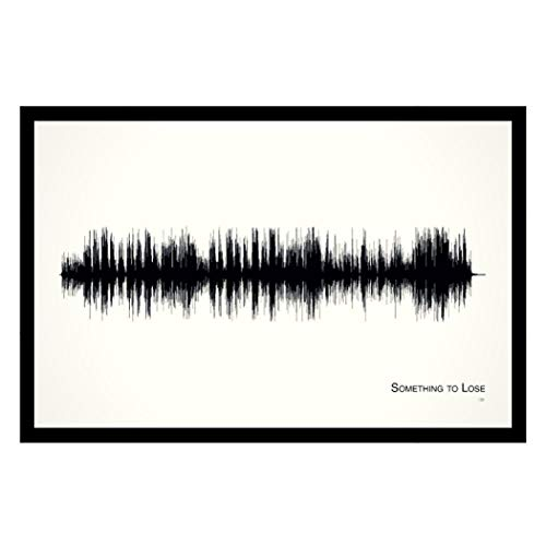 Something to Lose - 11x17 Framed Soundwave print