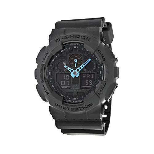 Used, Casio Men's G-Shock Analog-Digital Watch GA-100C-8ACR, for sale  Delivered anywhere in USA