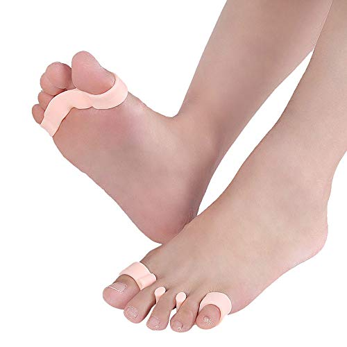 1Pair of Five Toes Bunion Corrector Hallux Valgus Corrector Day Night Toes Correction Feet Care Snail shape by XXJKHL (Image #8)