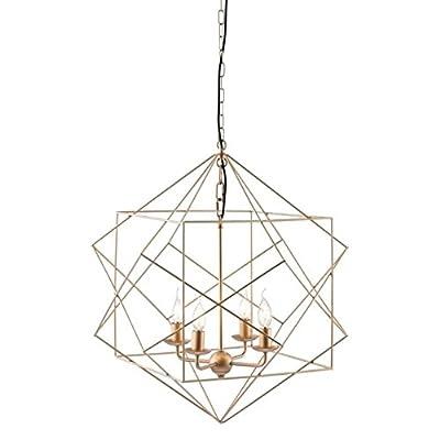 Zuo Modern Penta Ceiling lamp, Gold