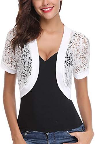 Abollria Sleeve Floral Bolero Cardigan product image