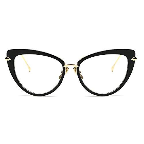 TIJN Cat Eye Frame Retro in Modern Glasses for Women 56mm