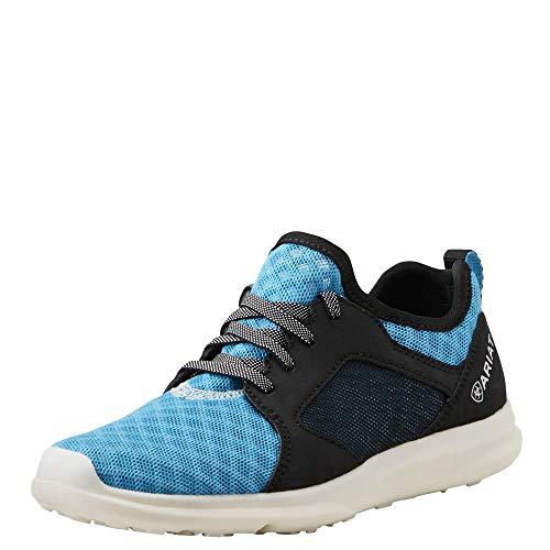 (Kids' Fuse Athletic Shoe, Highlighter Blue Mesh, 12 M US Little Kid)