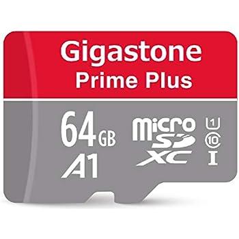 Amazon.com: Gigastone Tarjeta MicroSD A1 V30 UHS-I U3 Clase ...