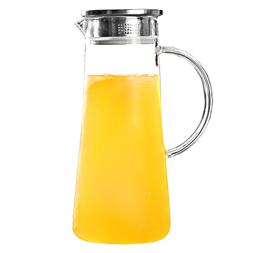 glass water bottle pitcher - 9