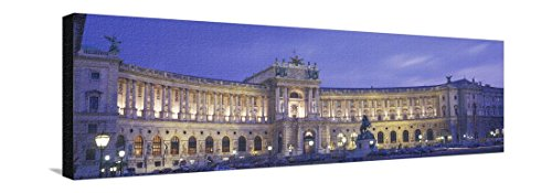 Hofburg Imperial Palace, Heldenplatz, Vienna, Austria Stretched Canvas Print by Panoramic Images - 42 x 14 - Images Vienna
