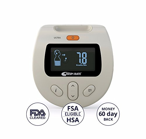 RESPeRATE Deluxe Duo: Device for Lowering High Blood Pressure Naturally. The only Non-Drug Hypertension Treatment. With Backlight for Use At Night. by RESPeRATE (Image #7)