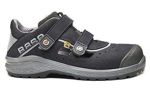 per S1p Esd antiscivolo Base velcro fresca Classic Bo871 sicurezza sabbia di scarpe Plus Unisex grigio EZWaqw8an