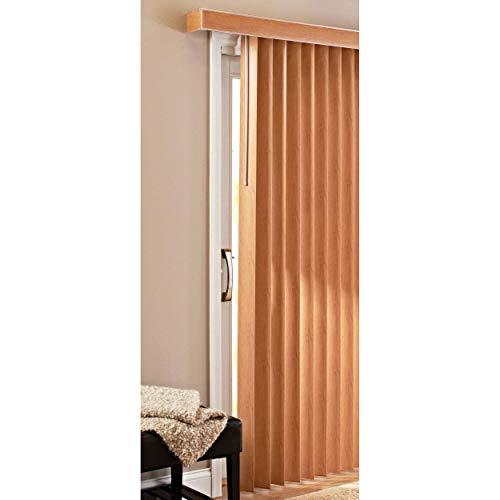 Patio Doors Vertical Blinds, Oak