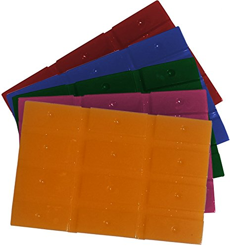 Candle Dye For Soy Candle Making - 5 Color Wax Assortment - 60 Blocks ...