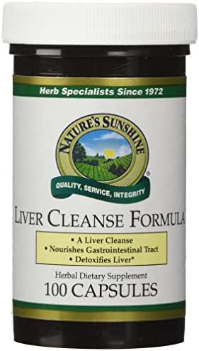 Liver Cleanse Formula (100 capsules)