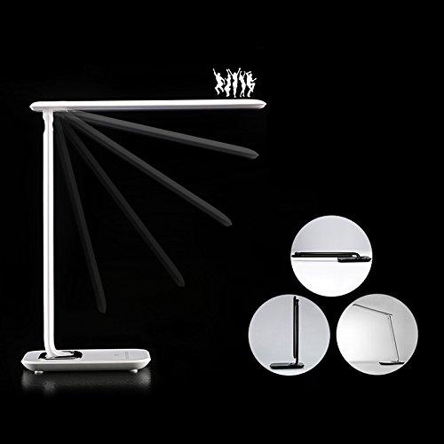 LED Desk Lamp - BANGWEIER Adjustable Touch Luxury 72 LED Desk Reading Lamp Light Dimmer Cool Warm Flex USB