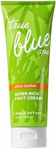 Bath and Body Works True Blue Spa Shea It Isn't So Super Rich Foot Cream 8 Ounce