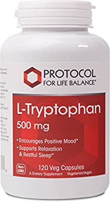 Protocol For Life Balance - L-Tryptophan 500 mg