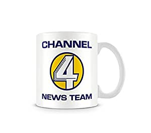 Anchorman Mug Channel 4 News Team Official Boxed