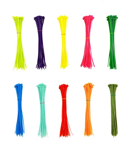 fluorescent cable ties - 7