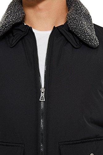 Hombre Threadbare Negro Abrigo para Chaqueta x0Wtvn0r