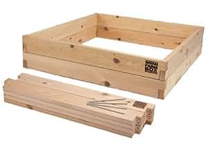 MinifarmBox 4x4x11 Raised Garden Bed Kit