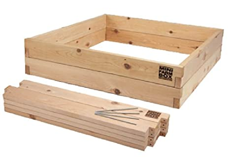 MinifarmBox 4x4x11 Raised Garden Bed Kit